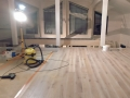 Interior finishing  of a log house