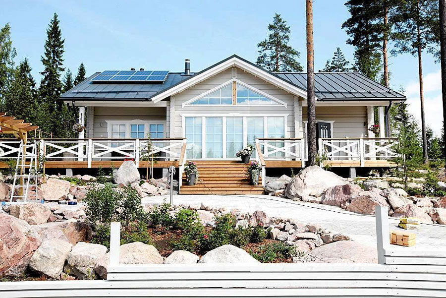 A Specialised Log House Factory & Log Home Construction Company