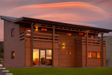 A specialised Scandinavian log cabin company delivering worldwide