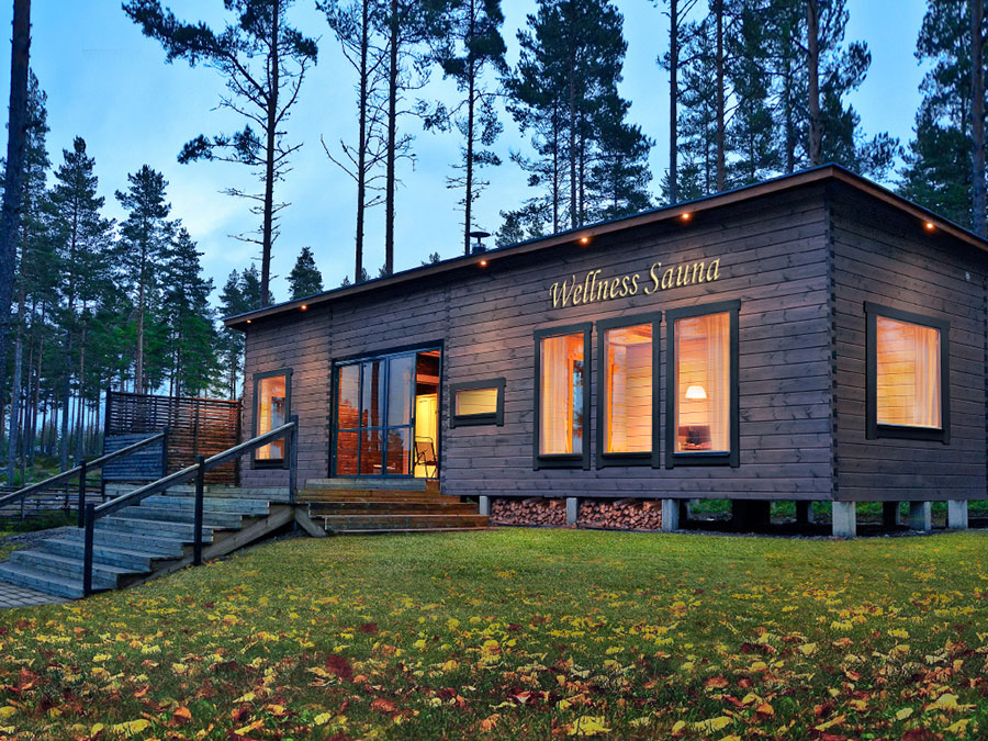 Finnish wellness sauna england
