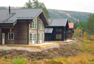 How to build a log house in Sweden