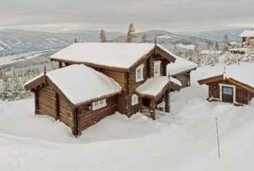 How to build a Norwegian log house