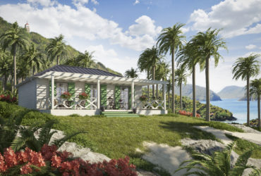 Hurricane proof log house –  Fortessa Caribbean 200
